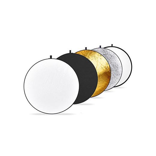 Neewer  - Kit plegable y portátil de 5 reflectores en 1