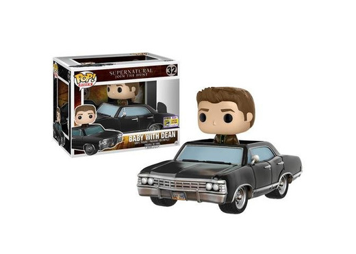 Funko Pop Vinyl Figure 32 14981 - Supernatural Dean & Baby SDCC Summer Convention Exclusives