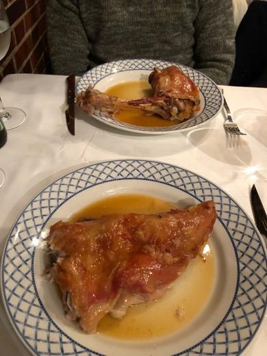 Restaurante Mesón de Cándido