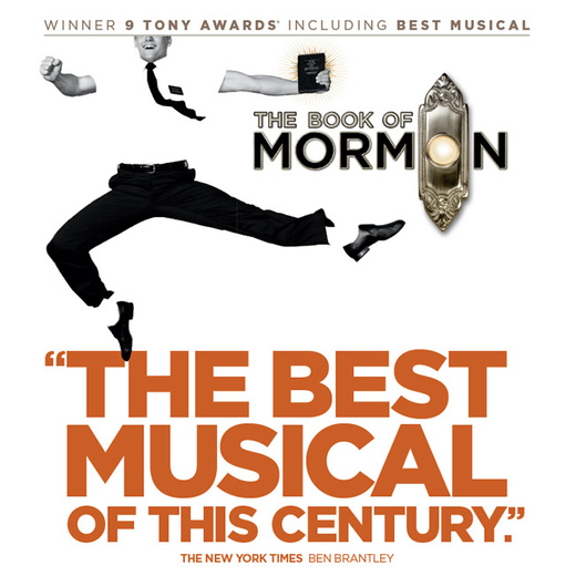 The Book of Mormon on Broadway   Official Site
