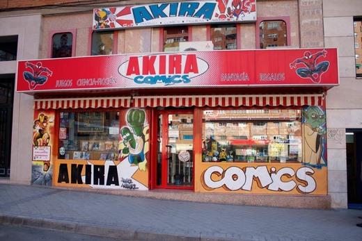 Librería Akira Comics