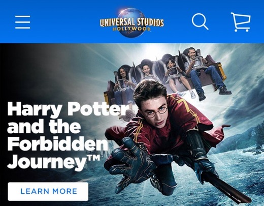Universal Studios Hollywood Official Site