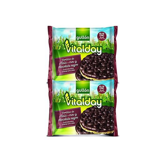 Gullón Vitalday Tortitas Maíz Chocolate Gullón