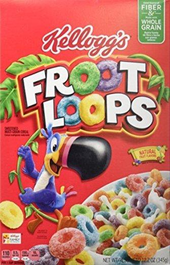 Kellog's Froot Loops Cereales Americanos