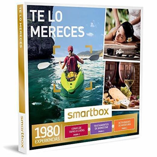 Smartbox - Caja Regalo - TE LO MERECES - 1980 experiencias gastronómicas