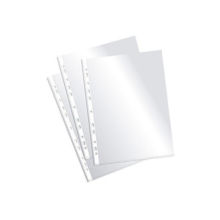 Plus Office EH303A-8/FC - Fundas multitaladro folio-cristal
