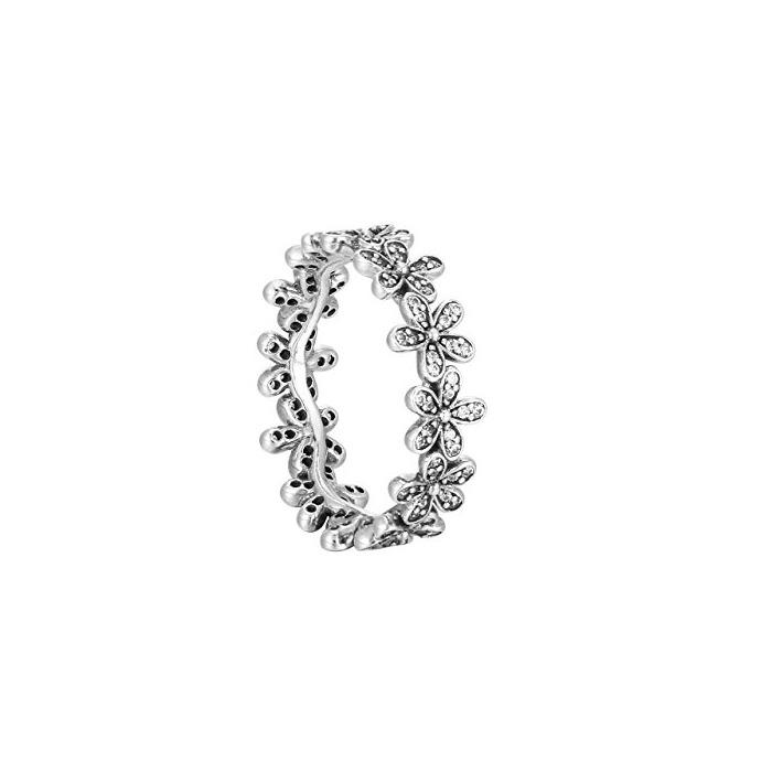 Pandora 190934CZ - Anillo de plata 925 para mujer con tira de