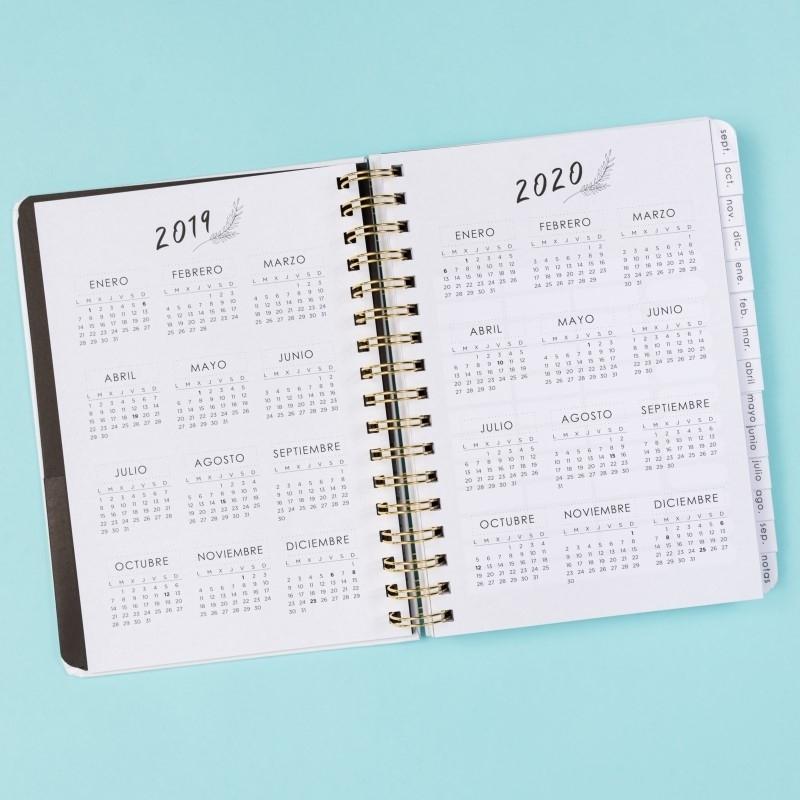 Agenda escolar 2019-2020 Defreds