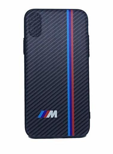 TPV Funda Carcasa silicona compatible con BMW M funda de móvil efecto