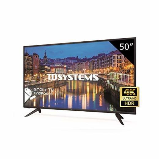 TD Systems K50DLH8US - Televisor Led 50 Pulgadas Ultra HD 4K Smart