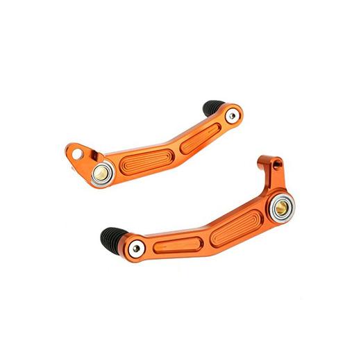 1 pieza CNC Motocicleta freno embrague engranaje pedal palancas para KTM DUKE