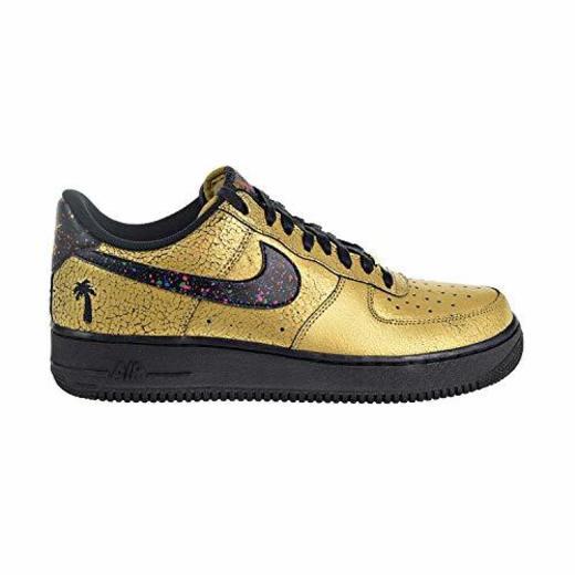 Nike Air Force 1 Tenis Bajas para Hombre, Dorado