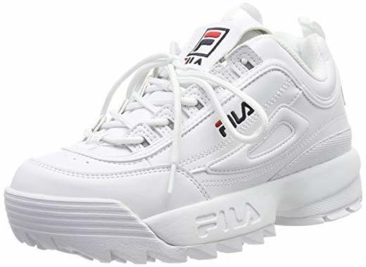 Fila Disruptor Low Wmn, Zapatillas para Mujer, Bianco