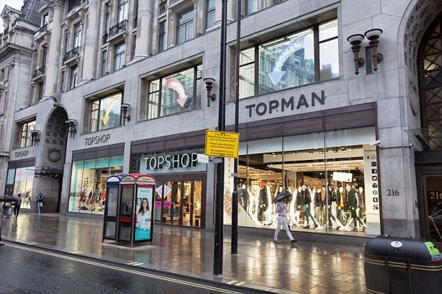 Topshop Oxford Street