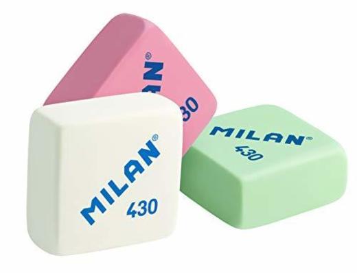 Milan 430 - Caja de 30 gomas de borrar