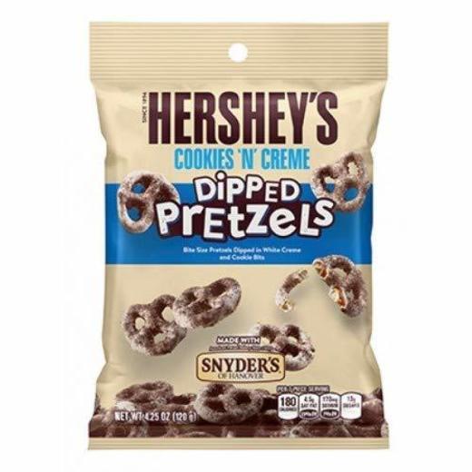 Hershey's Bretzel Ricoperto Gusto Cookies And Creme