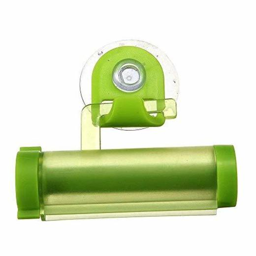 Ogquaton Creativo Pasta de Dientes Exprimidor Plástico Rolling Tube Dispensador de Pasta