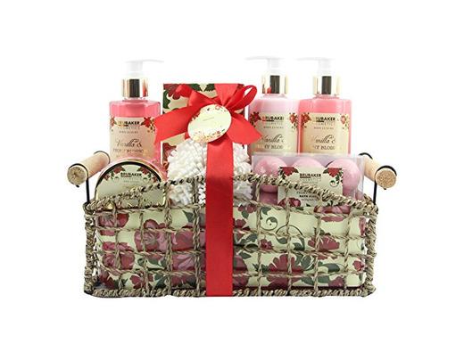 "BRUBAKER Cosmetics Set de Baño y Ducha""Vanilla & Poeny Blossom"""