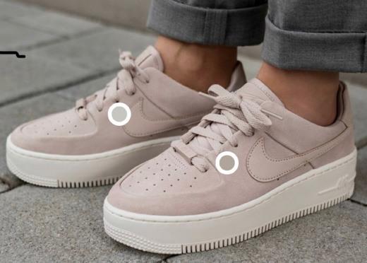 Nike Air Force 1 Sage Low Rosas