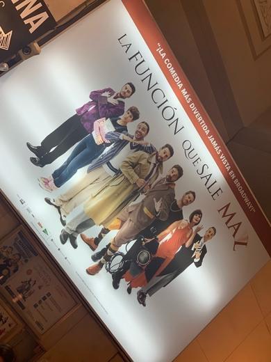 La función que sale mal - Teatro La Latina