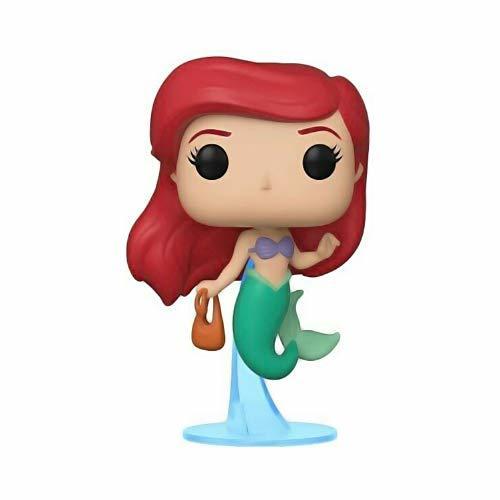 Funko- Pop Figura de Vinilo: Disney: Little Mermaid-Ariel w/Bag Coleccionable, Multicolor