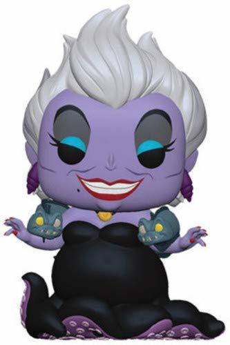 Funko- Pop Figura de Vinilo: Disney: Little Mermaid-Ursula w/Eels Coleccionable,