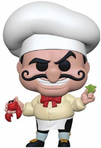 Funko- Pop Figura de Vinilo: Disney: Little Mermaid-Chef Louis Coleccionable,