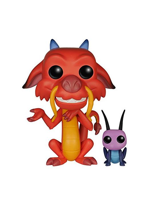 Funko - Pop! Vinilo Colección Disney - Figura Mushu & CRI-Kee
